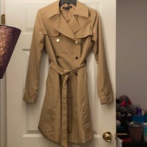 New York and Company double breasted trench coat